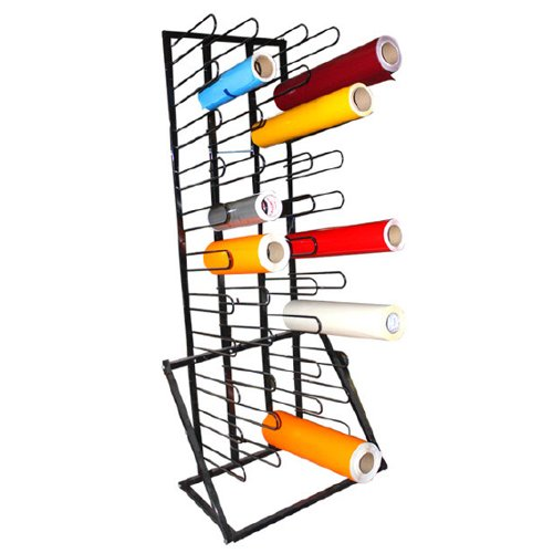 Heavy Duty Media Roll Organizer Floor Rack (FR44) Image 1