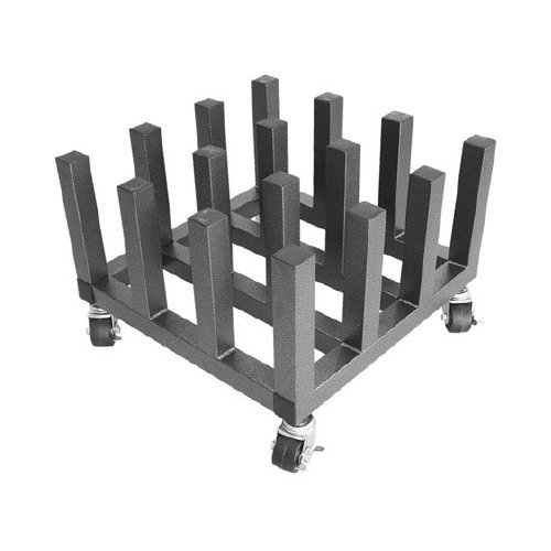 "Heavy Duty 16-Roll Storage Mobile Rack for 3"" Core Rolls (MR16) Image 1"