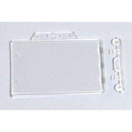 Horizontal Permanent Locking Proximity Card Holders - 50pk (1840-6040), MyBinding brand Image 1