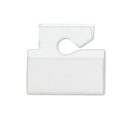 Horizontal Top Load Vinyl Hang Tag Vehicle Tag Holder 100pk (VM-3H), MyBinding brand Image 1