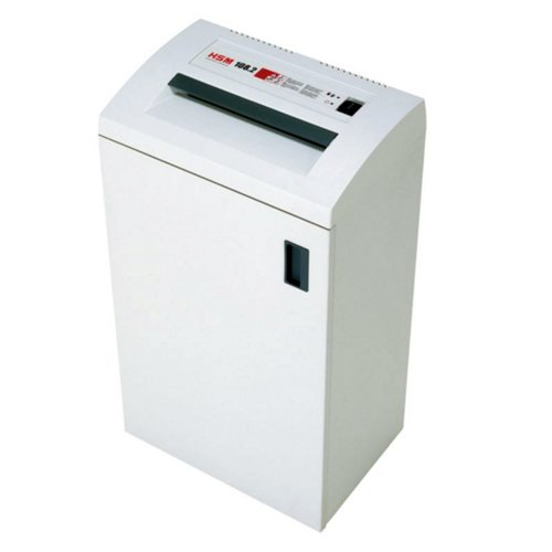 HSM 108.2 Level P-2 Strip Cut Office Paper Shredder (1663) Image 1
