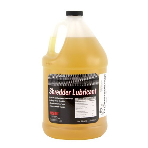 HSM of America Shredder Oil Image 1
