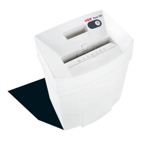 HSM Pure 120 Strip-Cut Level P-2 Compact Shredder (HSM2310) Image 1