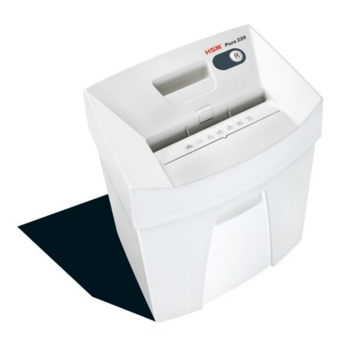 Level Cross Cut Compact Paper Shredder HSM Image 1