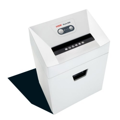 HSM Pure 320c Cross-Cut Level P-4 Compact Shredder (HSM2333) Image 1