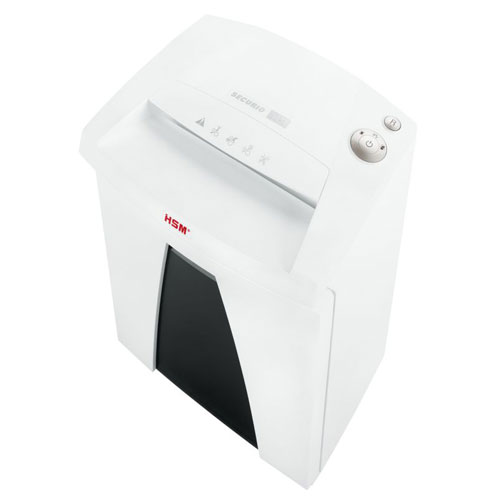 Level Strip Cut Office Paper Shredder HSM Image 1