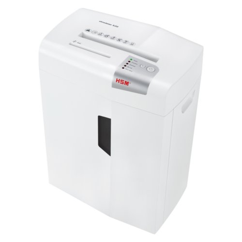 HSM Shredstar X20 Level P-4 Cross-Cut Shredder with CD Slot (HSM1051w) Image 1