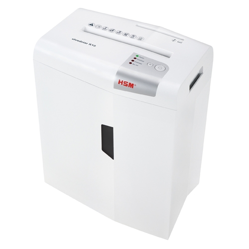 HSM Shredstar X10 Level P-4 Cross-Cut Shredder with CD Slot (HSM1045) Image 1