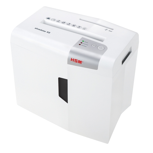 HSM Shredstar X8 Level P-4 Cross-Cut Shredder with CD Slot (HSM1044w) Image 1