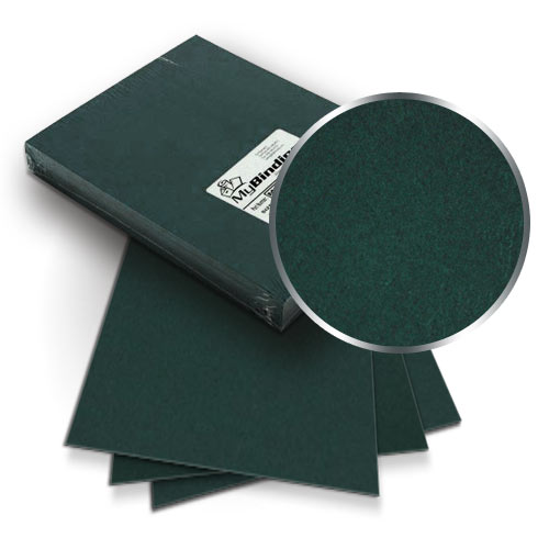 Hunter Green Grain 9 x 11 Index Allowance Covers - 100pk (MYGR9X11GR) Image 1