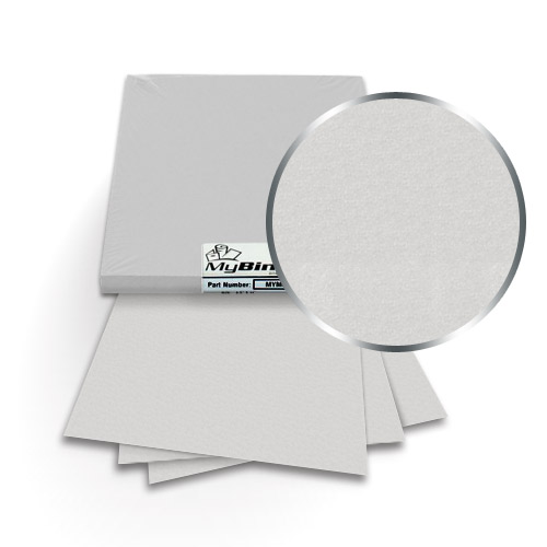 Ice Silver A4 Size 111lb Metallics Binding Covers - 50pk (MYMCA4IS461) - $59.11 Image 1