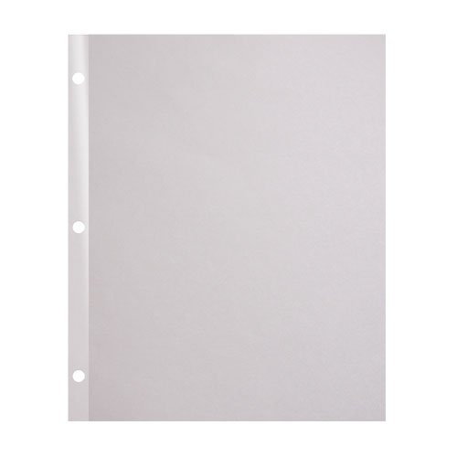 "Indent 90lb 11"" x 9"" 3-Hole Punched Reinforced Edge Paper - 3000 Sheets (RE9011X93HP), Brands Image 1"