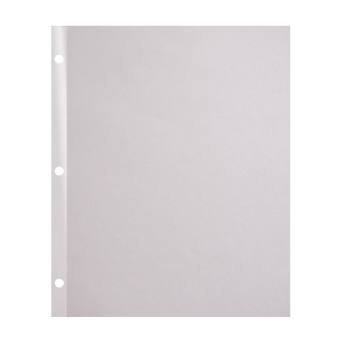 "Indent 90lb 11"" x 9"" 3-Hole Punched Reinforced Edge Paper - 3000 Sheets (68113) Image 1"
