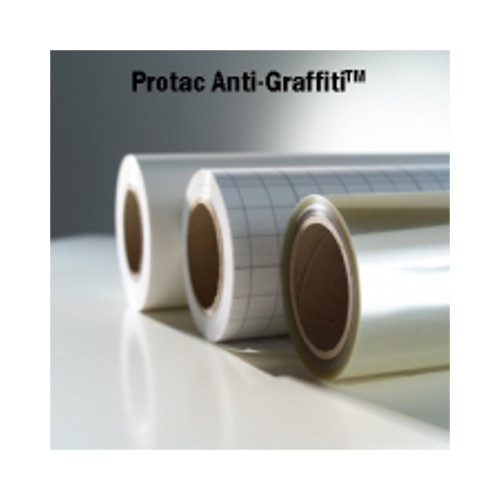 "Drytac Interlam Pro Anti-Graffiti UV 2.0mil 54"" x 150' PS Overlaminating Film (IAG54150) - $922.85 Image 1"