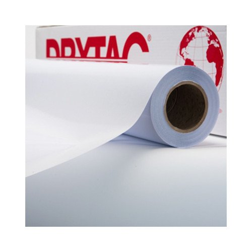 "Drytac Interlam Pro Glossy UV 4mil 51"" x 150' PS Overlaminating Film - 1 Roll (ILG51150) - $278.91 Image 1"