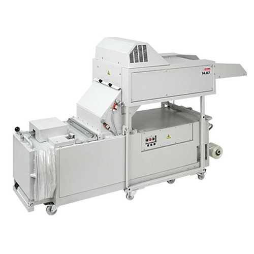 Intimus 14.87 3.8mm x 40mm Level P-4 Cross Cut Industrial Shredder with Baler (699931+475901) Image 1