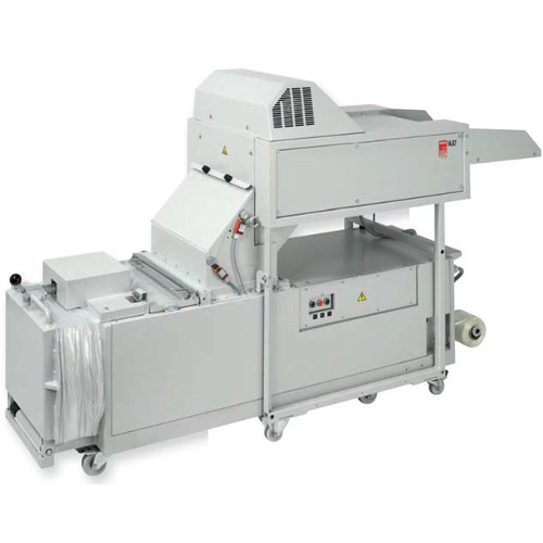 Intimus 14.87 6mm x 50mm Cross Cut Level P-3 Industrial Shredder with Baler (14.87-6X50MM)
