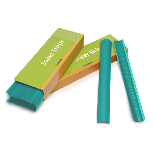"Powis Parker Jade Green 11"" Fastback Super Strips (PPFSJGN), Binding Supplies Image 1"
