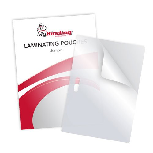 Jumbo Card Size Pouches with Long Side Slot - 100pk (MYLSLTLPJUMBO), MyBinding brand Image 1
