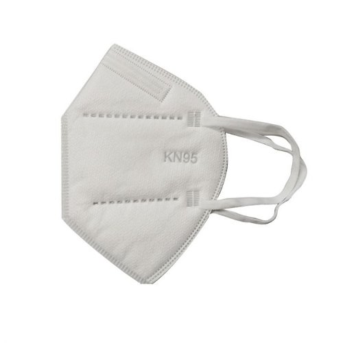 KN95 Disposable Face Mask ( Flat White Folding Respirator Mask) - Pack of 1 (MIS-KN95FW)