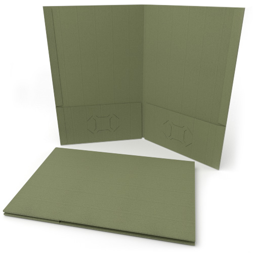 Papers in Two Pocket Folder Image 1