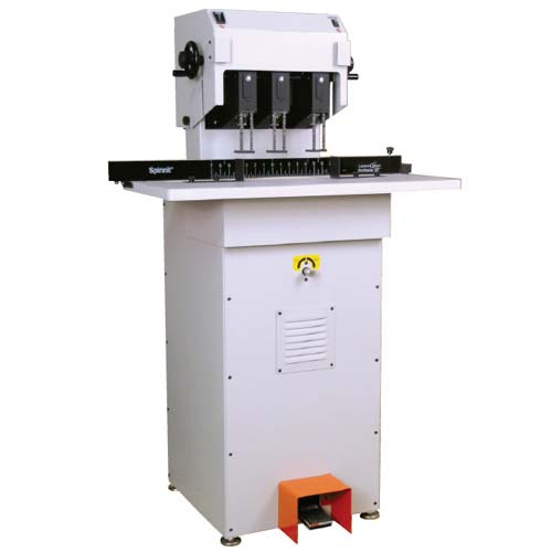 Spinnit 2-Spindle Hydraulic Lift Paper Drill (FMMH-2.1C) Image 1