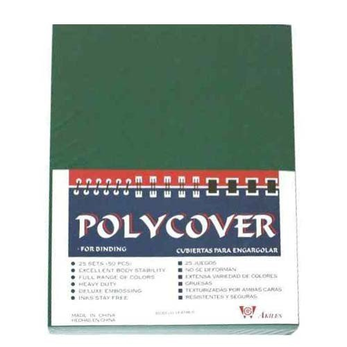 20mil Poly Binding Covers Image 1