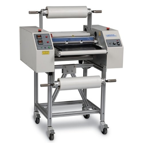 "Ledco Heavy Duty 20"" Hot Roll Laminator with Stand (H20) Image 1"