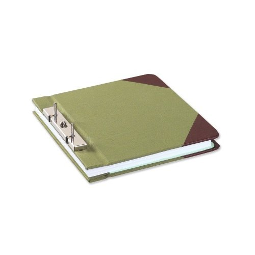 Green Canvas Wilson Jones Ring Binders Image 1