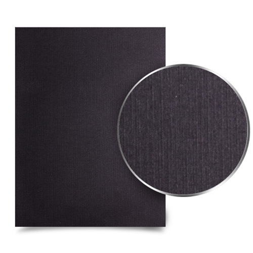 Black Linen Weave Binding Covers Image 1