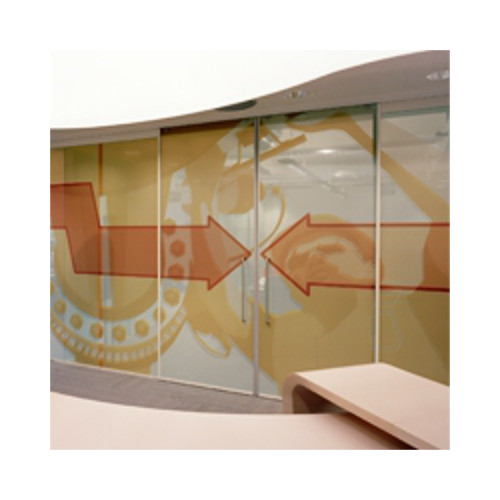 "Drytac Lintec Clear UV 2.0mil 61"" x 150' Scratch Resistant Window Graphic Film with Permanent Adhesive (E-2100ZC-61) Image 1"