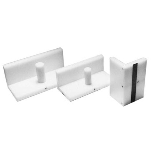 "4"" x 8"" Plastic Jogger Blocks (MIS-JB48), Cutter Accessories Image 1"