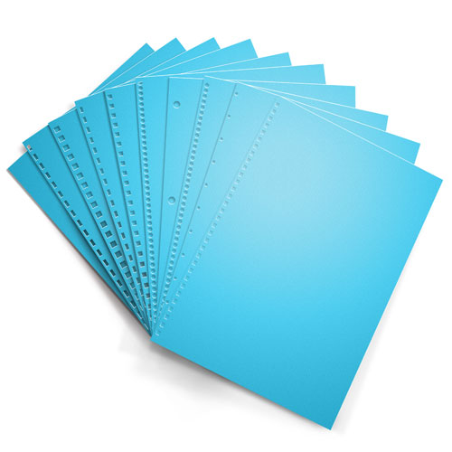 Lunar Blue Astrobrights 24lb Punched Binding Paper - 500 Sheets (PPP24ABLB)