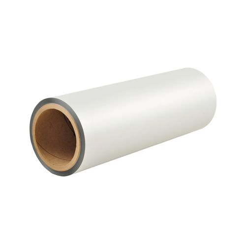 "12"" x 500' LuxeFilms Karess Soft Touch Matte Laminating Film (1 Inch Core) - 1 Roll (MYLFSTG1120000500) Image 1"