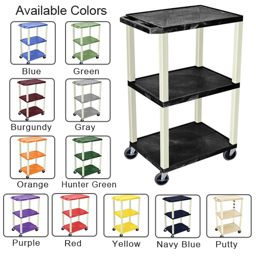 Tuffy Utility and Audio Visual Cart Image 1