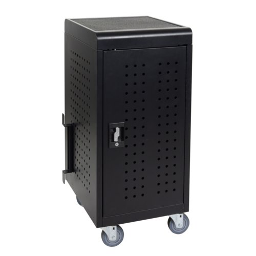 Luxor 24 Tablet/Chromebook Charging Cart (LLTM24-B), Luxor brand Image 1