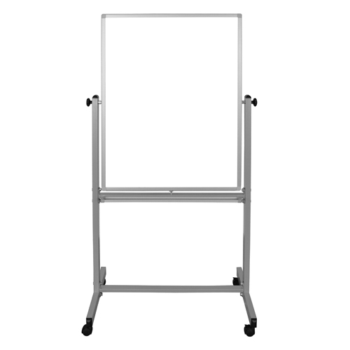 "Luxor 30"" x 40"" Reversible Mobile Steel Magnetic Whiteboard (MB3040WW) Image 1"