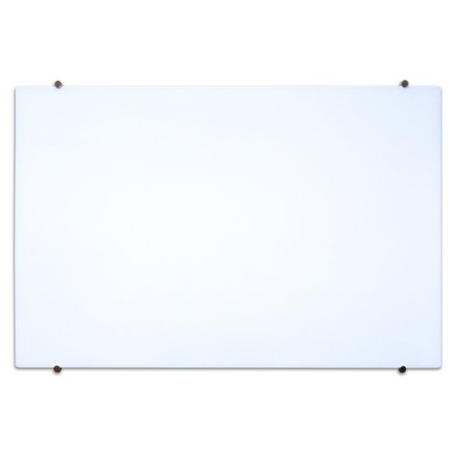 Magnetic Wall Mounted Glass Board Image 1
