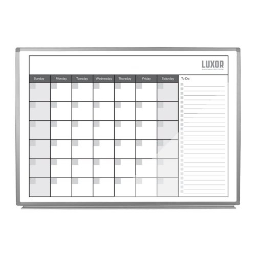 Monthly Calendar with Writing Space Image 1