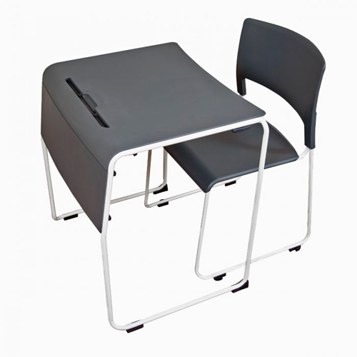Luxor Lightweight Stackable Student Desk and Chair (STUDENT-STK1PK) Image 1