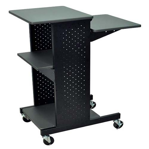 Luxor Gray Presentation Workstation with Steel Frame (PS4000) Image 1