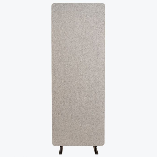 Luxor RECLAIM Acoustic Single Panel Room Divider (Misty Gray) (RCLM2466MG) Image 1