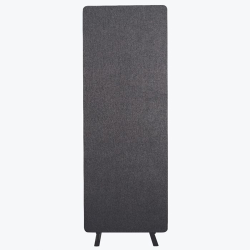 Luxor RECLAIM Acoustic Single Panel Room Divider (Slate Gray) (RCLM2466SG) Image 1