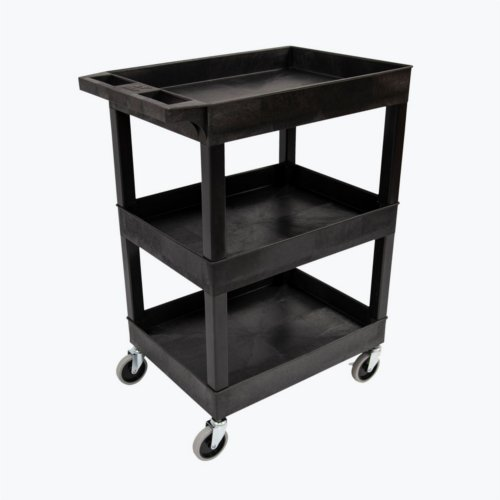 Luxor 3-Shelf Black 24