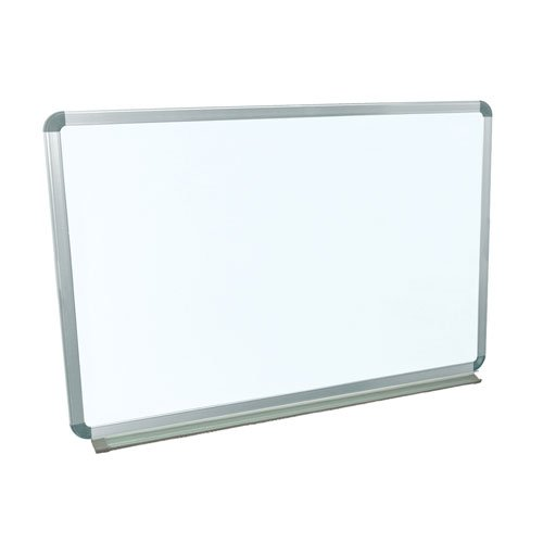 "Luxor 36"" X 24"" Wall-Mounted Magnetic Steel Whiteboard (WB3624W) Image 1"