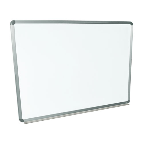"Luxor 48"" X 36"" Wall-Mounted Magnetic Steel Whiteboard (WB4836W) Image 1"