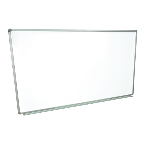 "Luxor 60"" X 40"" Wall-Mounted Magnetic Steel Whiteboard (WB6040W) Image 1"