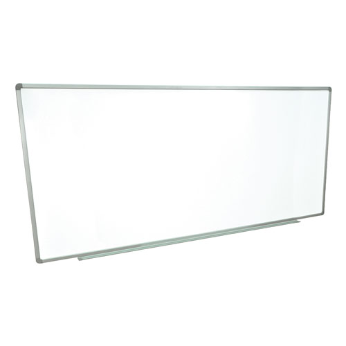 "Luxor 96"" X 40"" Wall-Mounted Magnetic Steel Whiteboard (WB9640W) Image 1"