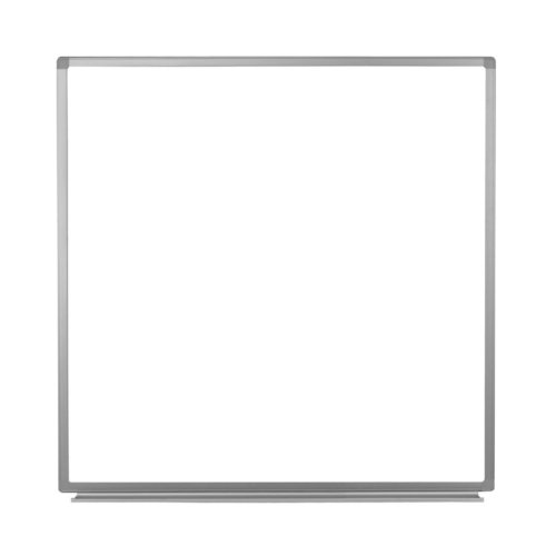 "Luxor 48"" X 48"" Wall-Mounted Magnetic Steel Whiteboard (WB4848W), Luxor Image 1"