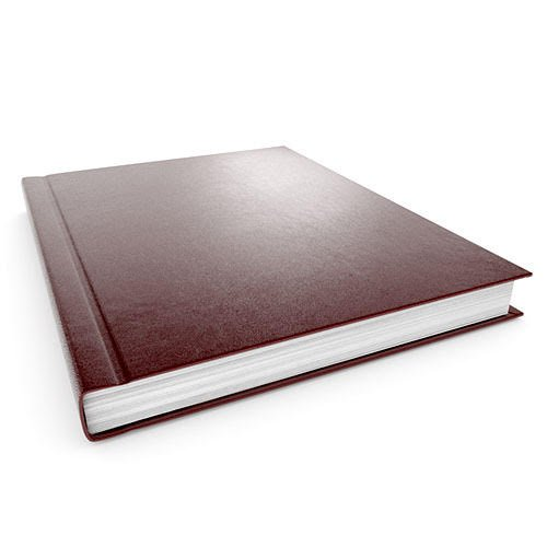 "11"" x 8.5"" Maroon Velobind Hard Cover Cases - 40pk (MYVBHCMR), Binding Supplies Image 1"
